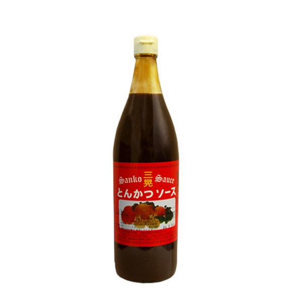 お祝い お礼 贈答 日本限定 贈り物 900ml 日本最大級の品揃え とんかつソース 三晃 お酒のギフトはお任せ下さい