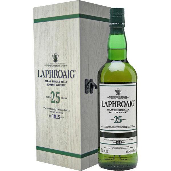 (激レアモルト) ラフロイグ 25年 カスクストレングス 48.9度 700ml お酒/贈り物/喜ぶ