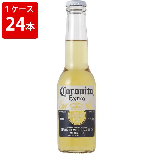 ケース販売 海外ビール 輸入ビール コロナ コロニータ エキストラ 207ml 瓶(1ケース/24本)
