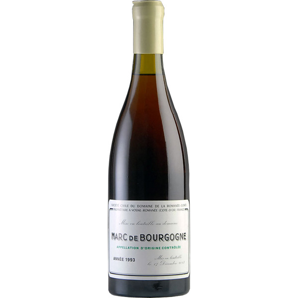 お中元 ギフト お酒 マール・ド・ブルゴーニュ ロマネ・コンティ  Marc de Bourgogne DRC 1993 700ml