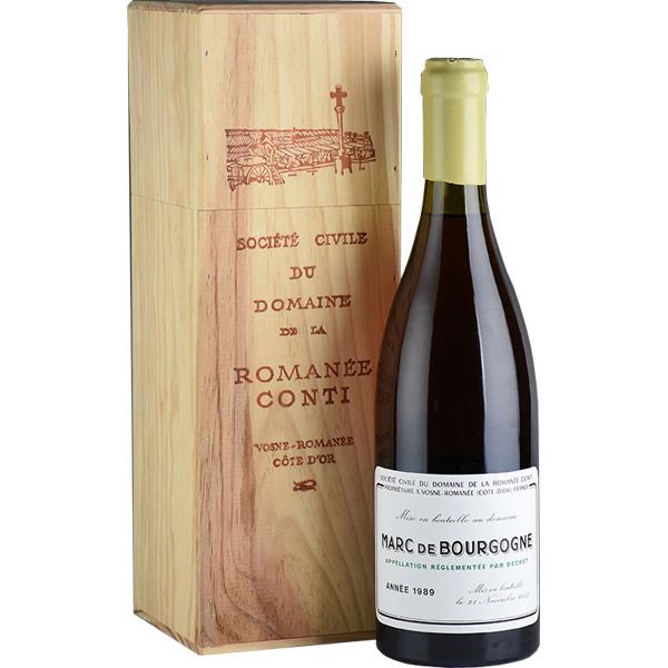 お中元 ギフト お酒 マール・ド・ブルゴーニュ ロマネ・コンティ  Marc de Bourgogne DRC 1989 700ml
