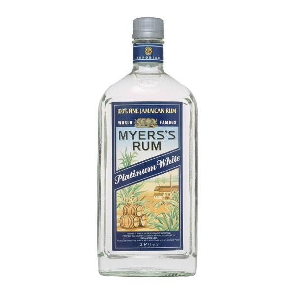 お祝い お礼 祝日 贈答 贈り物 お酒のギフトはお任せ下さい 正規輸入品 ホワイト 750ml 海外 ラム マイヤーズ 40度 プラチナ