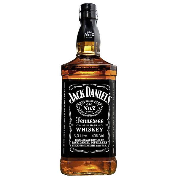 (希少な3L正規輸入品) ジャックダニエル 40度 3000ml(テネシー・ウイスキー) お酒/贈り物/喜ぶ