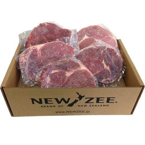 NEWZEE BEEF RIBEYE ビーフリブアイ ニュージーランド産 特売 100%牧草牛 1kg ステーキ 冷凍 5 200g x 1着でも送料無料