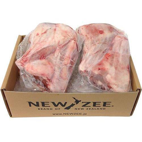 NEWZEE LAMB SHANKS ラムシャンク ニュージーランド産 【100% 牧草ラム】 4 x 350g シャンク (1.4kg) 【冷凍】
