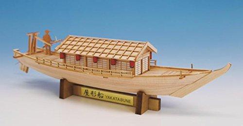 船舶模型 和船模型 船模型 Woody JOE 【 ミニ 屋形船 】 模型 木工模型 工作 木製模型 キット 木製工作キット 趣味 製作 リアル 忠実 再現模型 再現 夏休み 盆休み 冬休み 船 和船 船舶 ふね ウッディジョー ウッディージョー