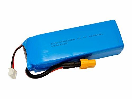 XK Li-Poバッテリー 11.1V 2200mAh (X350) XKX350-015 [日本正規品]