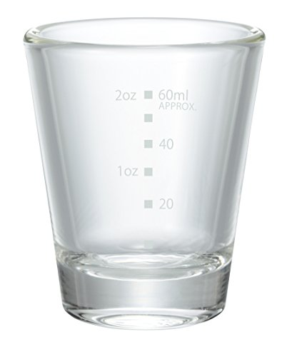 HARIO(ハリオ)  ショット グラス メモリ付き 目盛付き コップ グラス カップ 6客セット ハリオ hario