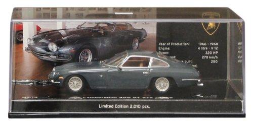 PMA1/43 ランボルギーニ 400GT 2/2 1966 グレー 【 ミニカー 1/43 ランボルギーニ 】 おもちゃ ホビー 趣味 コレクション