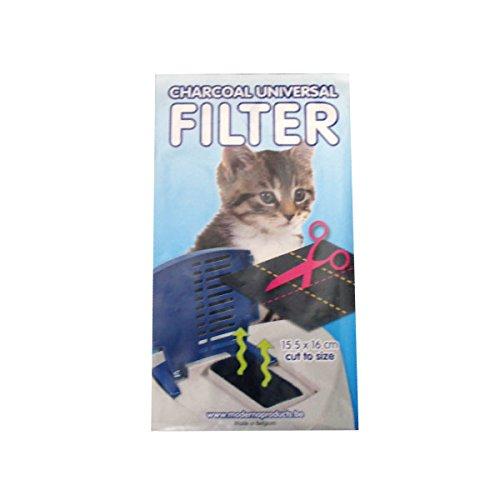 【Moderna Products】トイレ専用活性炭フィルター ×20個セット 【 ペットグッズ 猫用品 猫 ねこ ネコ トイレ用品 トレーナー・トイレ容器 】