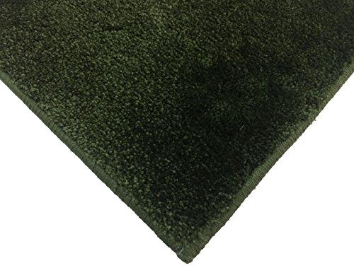 スミノエ 防炎 消臭 スミトロンニューサキソニー ラグ 200×250cm グリーン