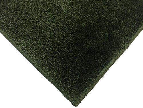 スミノエ 防炎 消臭 スミトロンニューサキソニー ラグ 200×200cm グリーン