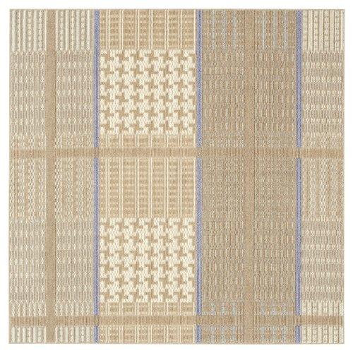 スミノエ ラグ 吸湿発熱 ウォームグレン 130×190cm ブラウン 13278819