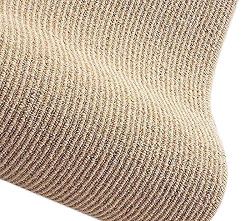 スミノエ ウール 防炎 ナチュラルライン ラグ 190×190cm ベージュ