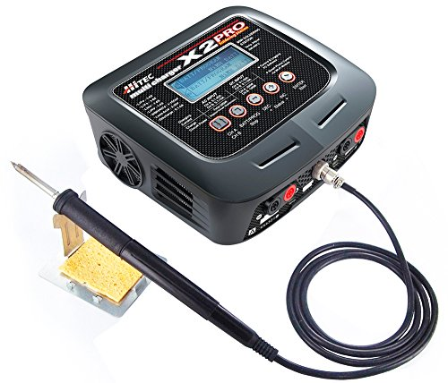 Hitec ハイテック multi charger X2 PRO (充/放電器+半田こて) 44236 [日本正規品]