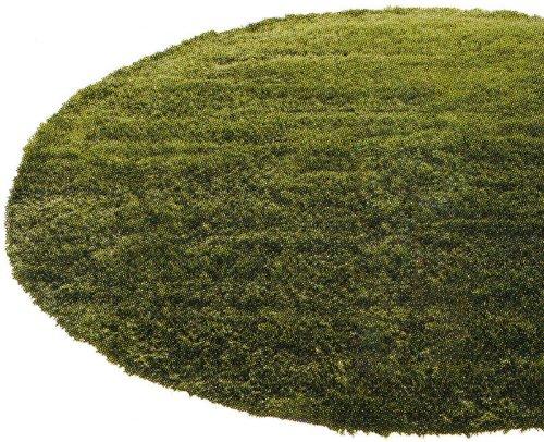 床暖房・ホットカーペット対応 GRASS RUG 直径150cm