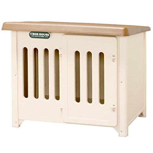 アイリスオーヤマ ボブハウス ブラウン/ベージュ 950 / ペット ペットグッズ 犬用品 ハウス 犬小屋 中型犬用 屋外用