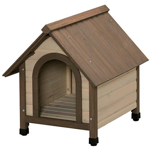 アイリスオーヤマ ウッディ犬舎 ブラウン WDK-600 / ペット ペットグッズ 犬用品 ハウス 犬小屋 小型犬用 屋外用