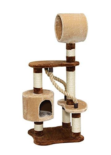 アイリスオーヤマ キャットランド CLF-6 ブラウン / ペット ペットグッズ 猫用品 キャットタワー