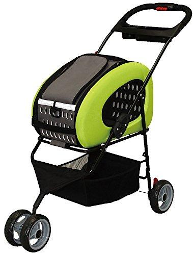 アイリスオーヤマ 4WAYペットカート FPC-920 グリーン / ペット ペットグッズ 犬用品 キャリーバッグ