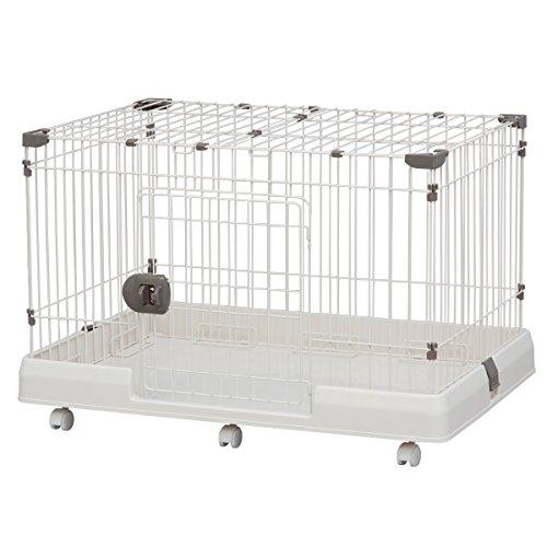 アイリスオーヤマ ルームケージ ミルキーブラウン RKG-900L (91cm×63cm) / ペット ペットグッズ 犬用品 ケージ