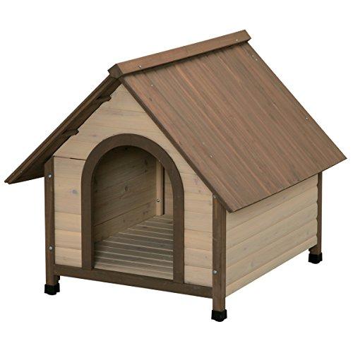 アイリスオーヤマ ウッディ犬舎 ブラウン WDK-900 / ペット ペットグッズ 犬用品 ハウス 犬小屋 中型犬用 屋外用