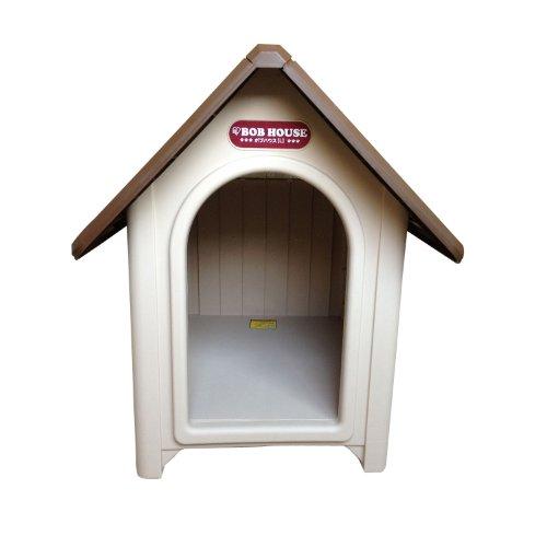 アイリスオーヤマ ボブハウス ブラウン/ベージュL / ペット ペットグッズ 犬用品 ハウス 犬小屋 中型犬用 屋外用