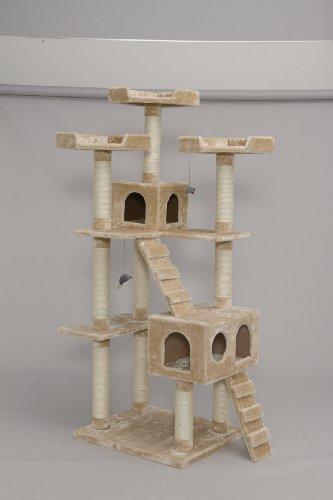 アイリスオーヤマ キャットランド CLF-8 ブラウン / ペット ペットグッズ 猫用品 キャットタワー