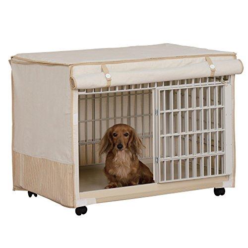 アイリスオーヤマ リラックスケージ ベージュ 中型犬向け RLC-810 / ペット ペットグッズ 犬用品 ケージ