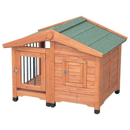 アイリスオーヤマ サークル犬舎 CL-990 ブラウン / ペット ペットグッズ 犬用品 ハウス 犬小屋 中型犬用 屋外用