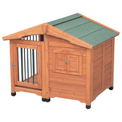 アイリスオーヤマ サークル犬舎 CL-1100 ブラウン / ペット ペットグッズ 犬用品 ハウス 犬小屋 中型犬用 屋外用