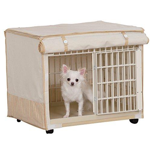 アイリスオーヤマ リラックスケージ ベージュ 小型犬向け RLC-660 / ペット ペットグッズ 犬用品 ケージ