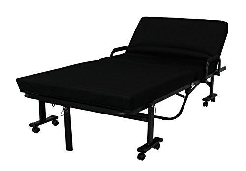 アイリスオーヤマ 折りたたみベッド ハイタイプ 完成品 ブラック OTB-KRH / インテリア 寝具 ベッド 折りたたみベッド 折畳み 折り畳み フォールディング