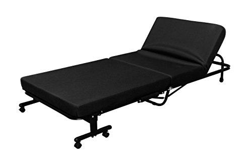 アイリスオーヤマ 折りたたみベッド 高反発 14段階リクライニング ブラック OTB-KR / インテリア 寝具 ベッド 折りたたみベッド 折畳み 折り畳み フォールディング