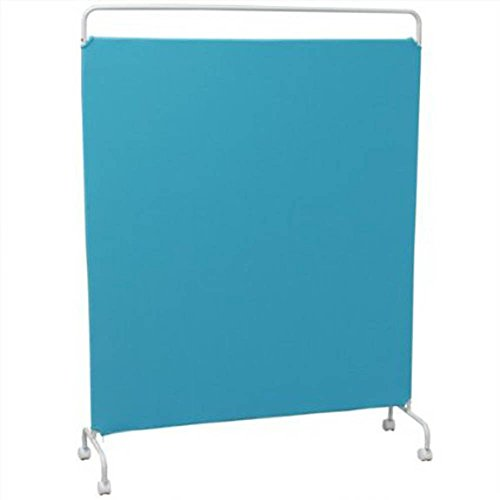 アイリスオーヤマ スクリーン SRK-1612 ブルー / インテリア 収納 オフィス家具 パネル・パーテーション スクリーン
