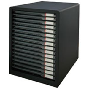 アイリスオーヤマ ( お徳用 3セット ) レターケース 16段L-16SSRダークグレー / インテリア 収納 オフィス家具 オフィス収納 書類収納 レターケース