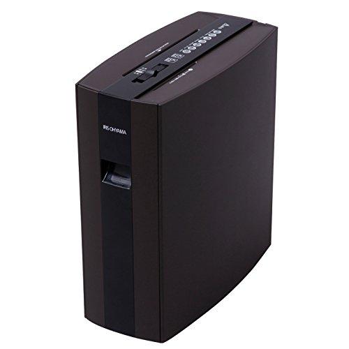 アイリスオーヤマ シュレッダー 細密 PS5HMSD ブラウン / オフィス機器 シュレッダー