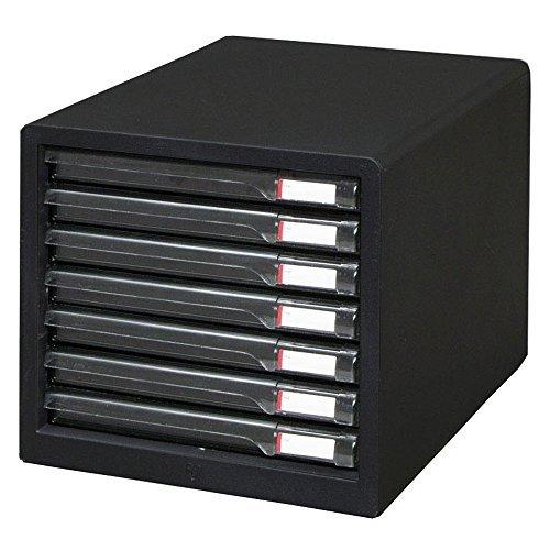 アイリスオーヤマ レターケース(スリム) ダークグレー L-7SR ダークグレー 00023731 【まとめ買い3個セット】 / インテリア 収納 オフィス家具 オフィス収納 書類収納 レターケース