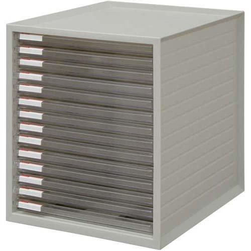 アイリスオーヤマ 超浅型レターケース14段 ホワイト 3台入 / インテリア 収納 オフィス家具 オフィス収納 書類収納 レターケース