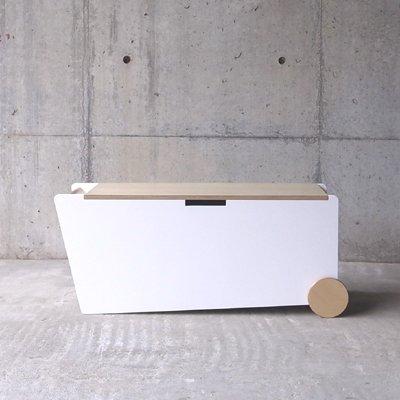 【アボード社】abode/BENCH BOX ホワイト/4589831310015