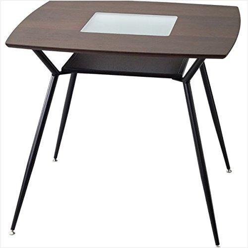 【スパイス】LOGIC DINING TABLE SQ DARK BROWN/FST200DBR