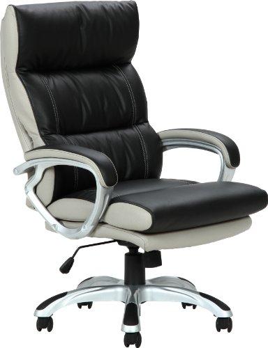 コイルスプリングOAチェア マリーノBK/【オフィスチェア Marino 肘付き 】 ロッキング リクライニング レザー 合皮 高機能 ポケットコイル 機能性チェア 椅子 いす イス 書斎 事務所
