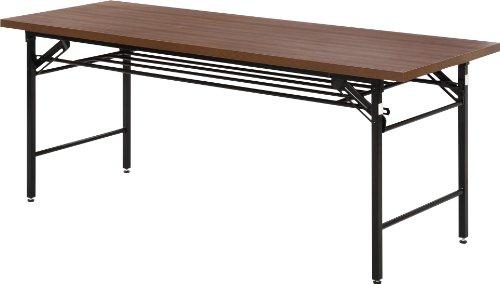 不二貿易 会議テーブル (ハイタイプ) 幅180x奥行60cm 94465