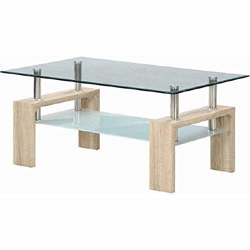 センターテーブル フォーカス ホワイトオーク fj-96039