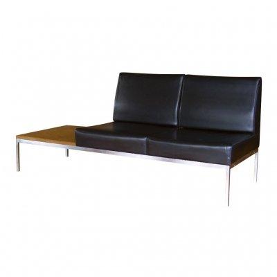 【スパイス】vinyl 2 seat chrome sofa/STG-SOF-1155/4947849940097