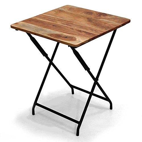 【スパイス】ANCIENT 折りたたみスクエアテーブル アイアン&ウッド/KRFG5020/4548815022566