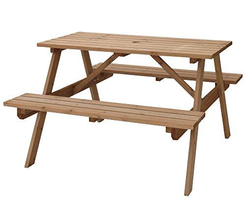 【 テーブル&ベンチ W120 (ODS-92LBR) L1 】 ODS-92LBR / 4985155195848 / 東谷