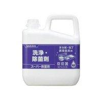 サラヤ スーパー除菌剤 5kg×3本 31828 0331550