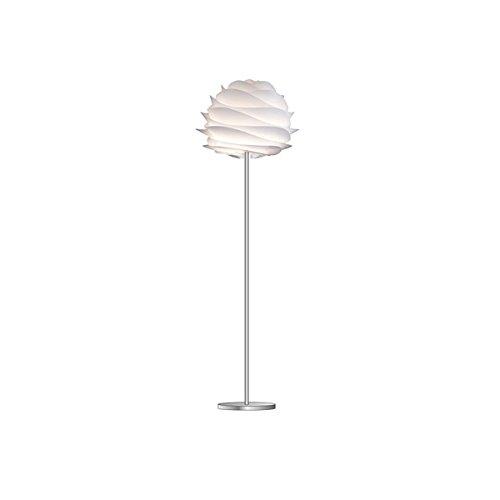 VITA Carmina ヴィータ カルミナ 1灯 ホワイト フロアライト フロアスタンド 照明 組立式 シルバーベース 02056-FL 【 インテリア ライト 照明 スタンドライト フロアスタンド 】