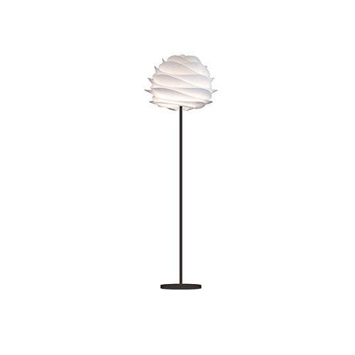VITA Carmina ヴィータ カルミナ 1灯 ホワイト フロアライト フロアスタンド 照明 組立式 ブラックベース 02056-FL 【 インテリア ライト 照明 スタンドライト フロアスタンド 】